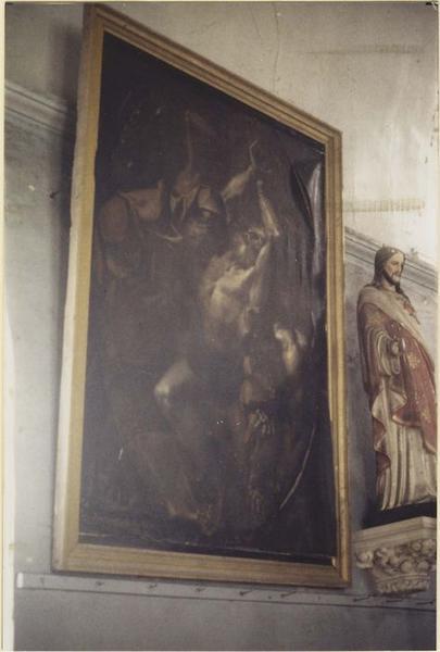 Tableau : le Martyre de saint Barthélémy, vue générale