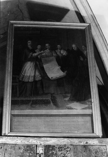 tableau : Fondation de l'ordre de Saint-Maur