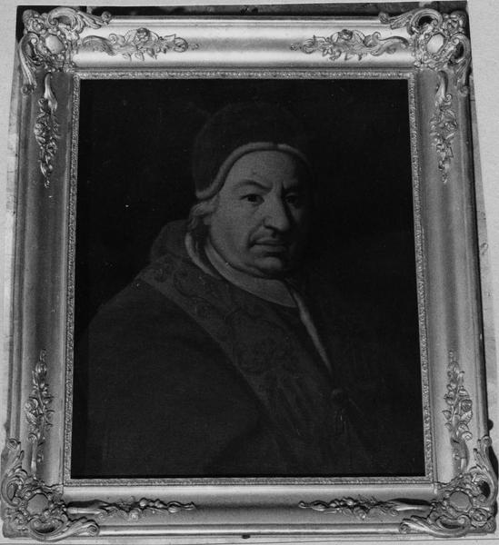 tableau : Portrait du pape Benoît XIV (1675-1758)