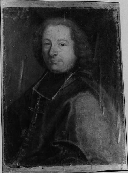 tableau : portrait d'évêque