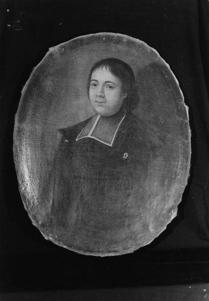 tableau : portrait d'ecclésiastique