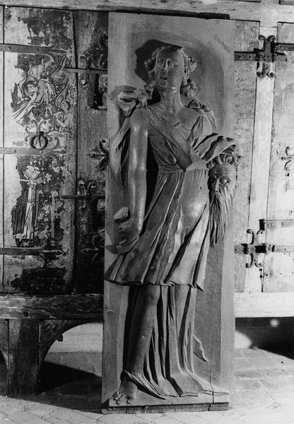 panneau sculpté (haut-relief) : Judith