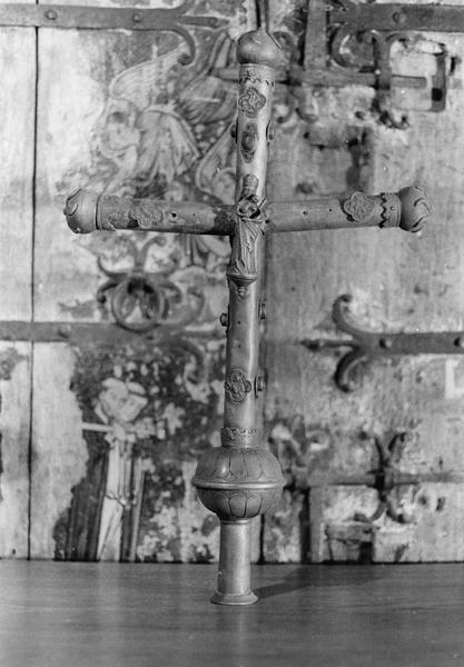 croix de procession, revers