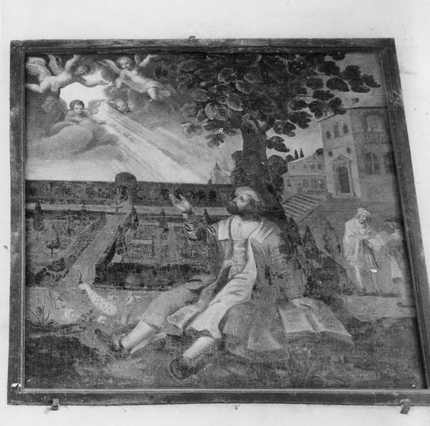 tableau : l' inspiration de saint Augustin
