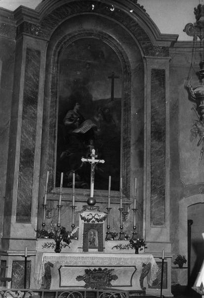 Autel (maître-autel) : l'Invention de la sainte Croix