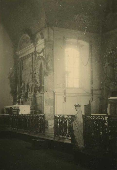 autel latéral nord et son retable, vue générale