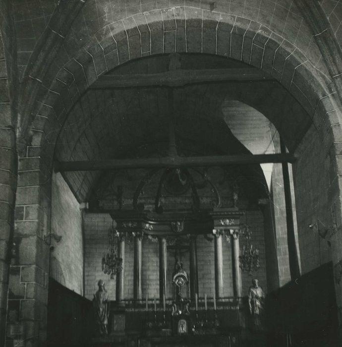 autel (maître-autel) avec son retable et son ciborium, vue générale