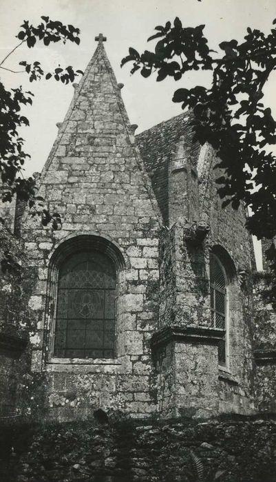 Chapelle Sainte-Brigitte: Chevet, vue partielle