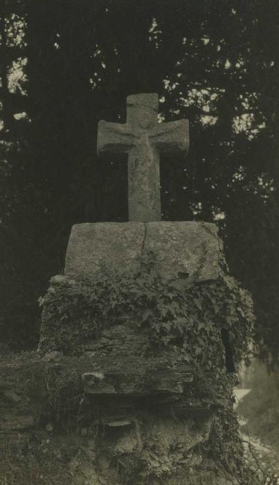 Croix monolithe dite Croix de Bezon: Vue générale