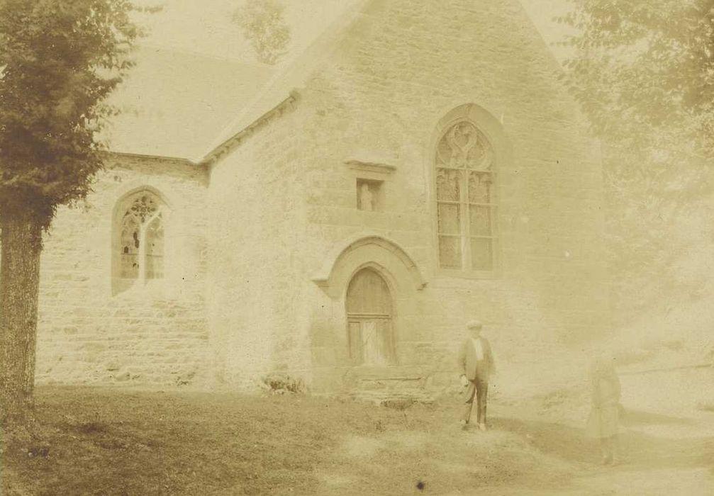 Chapelle Notre-Dame de Douarnec: Transept sud, vue générale
