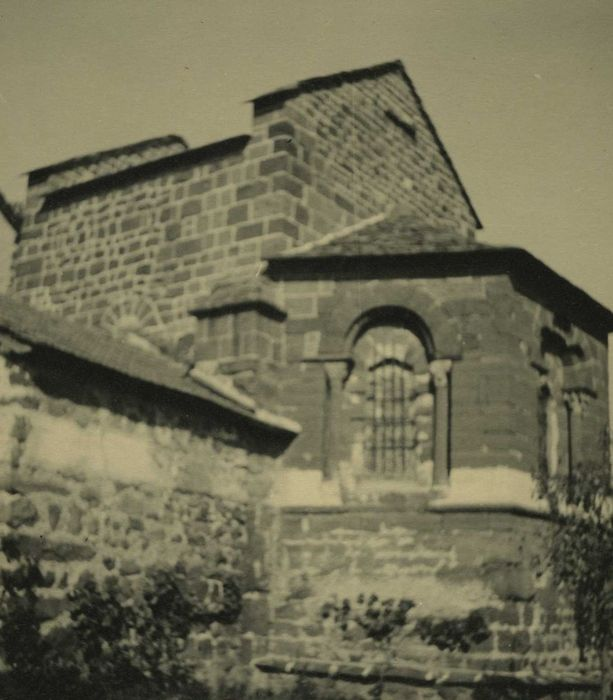 Eglise Saint-Vital: Façade latérale sud, vue partielle