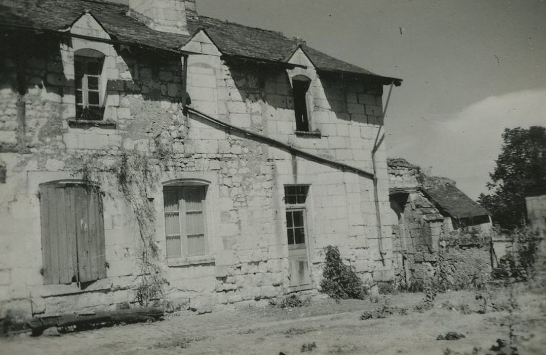 Ancien hôtel de la Prévôté: Aile ouest, façade est, vue partielle