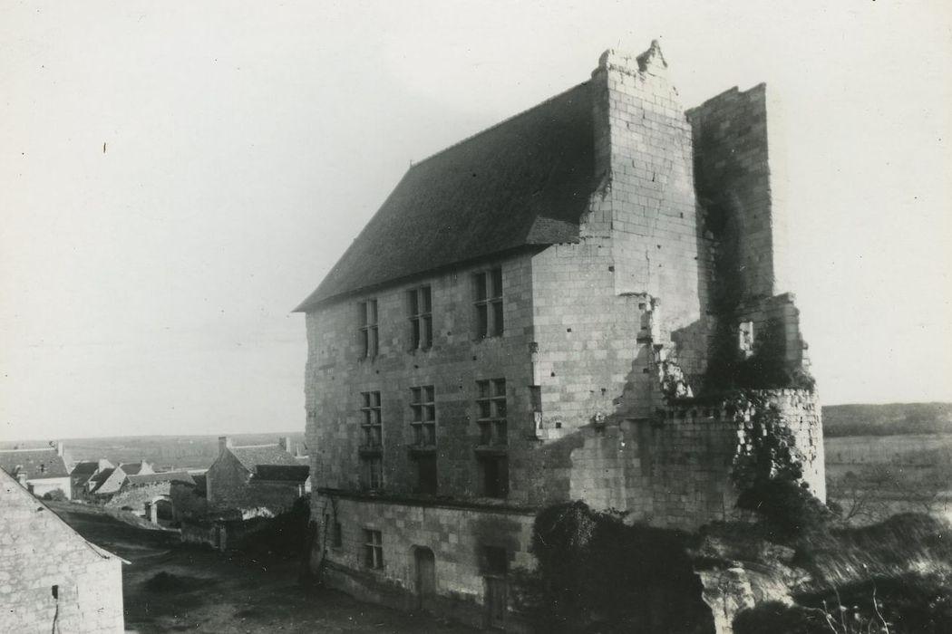 Château de Crissay: Vue partielle des ruines