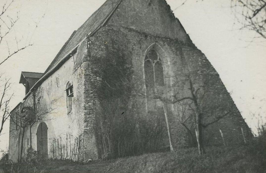 Ancien prieuré Saint-Pierre de Vontes: Chapelle, vue générale