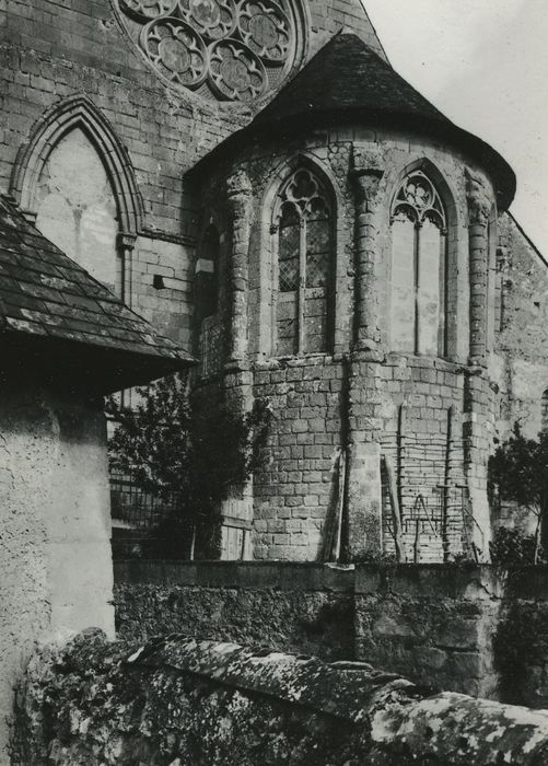 Eglise Saint-Christophe: Chevet, vue générale