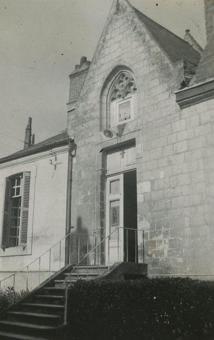 Ancienne maison canoniale: Oratoire, vue générale de la façade