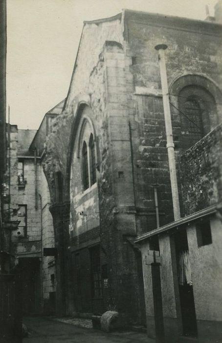 Ancienne église Saint-Pierre-le-Puellier: Façade sur rue, vue générale