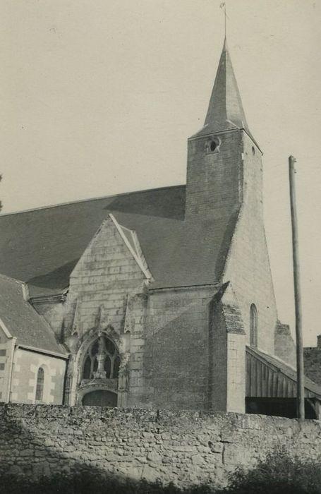 Eglise Notre-Dame: Façade latérale nord, vue partielle