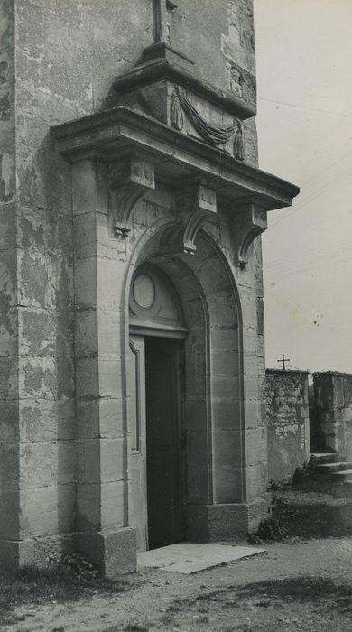 Eglise Saint-Denis: Portail occidental, vue générale