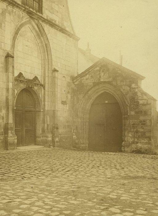 Prieuré de Notre-Dame (ancien): Ancien portail, vue générale
