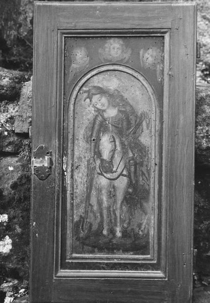 meuble de sacristie, saint Georges