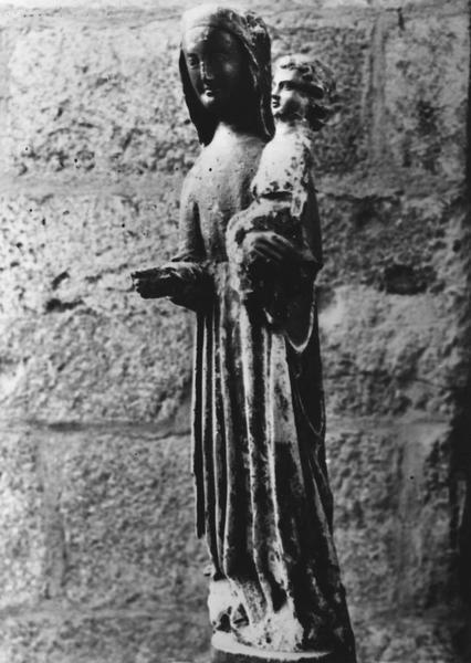 Statue : Vierge à l'Enfant dite Vierge noire