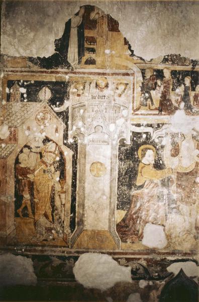 peintures murales , vue générale