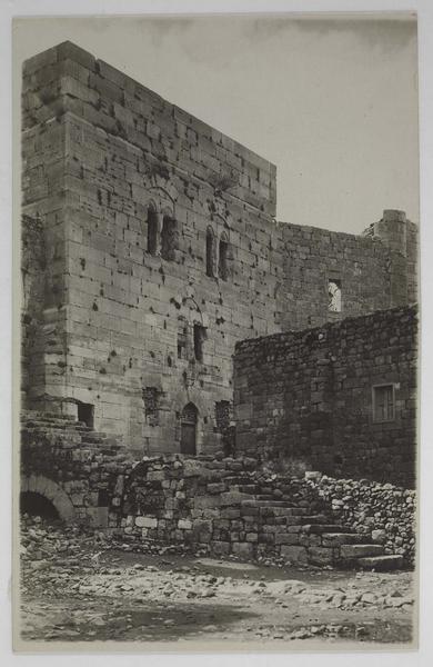 Vue de la tour principale