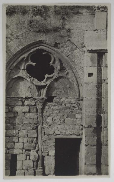 Une arcade de la galerie gothique