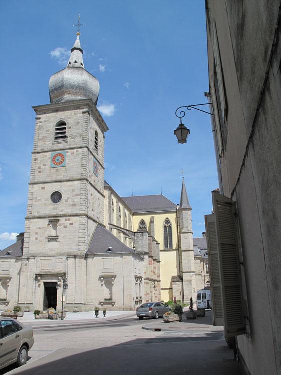 Église Saint-Pierre : ensemble sud-ouest