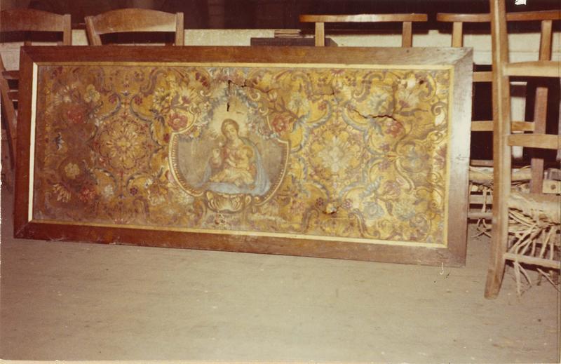 devant d'autel (cuir de Cordoue)