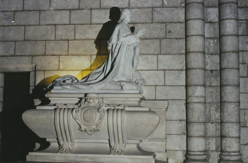 tombeau de Monseigneur Sebaux