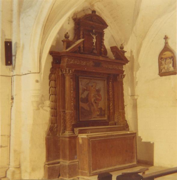 Autel, retable (autel tombeau, retable architecturé)