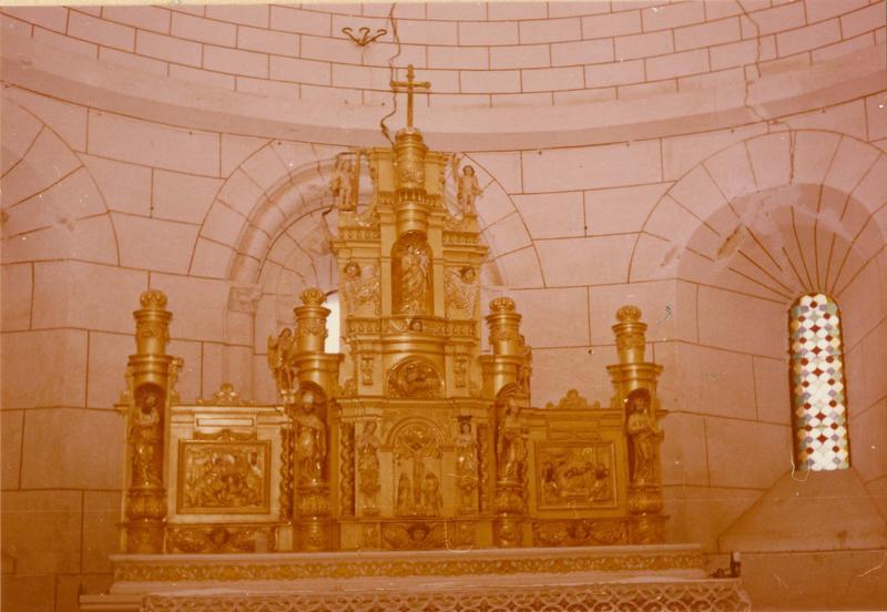 tabernacle, maître-autel : exposition