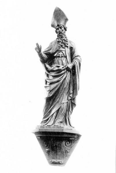 statue : saint Ausone, vue générale