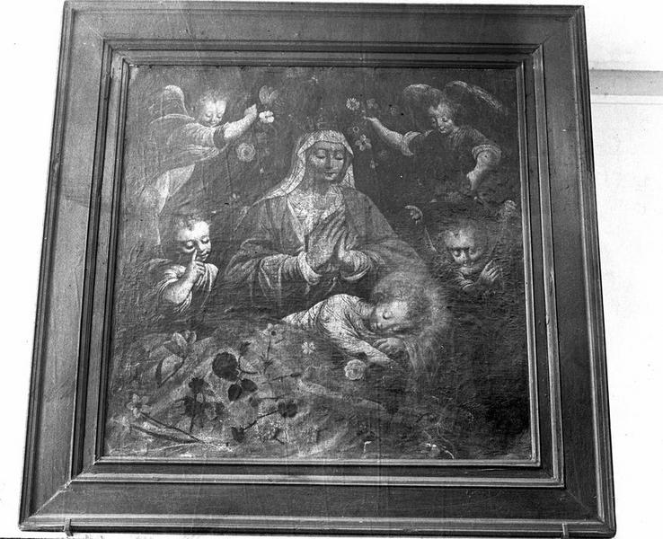 tableau : Vierge à l'Enfant, vue générale
