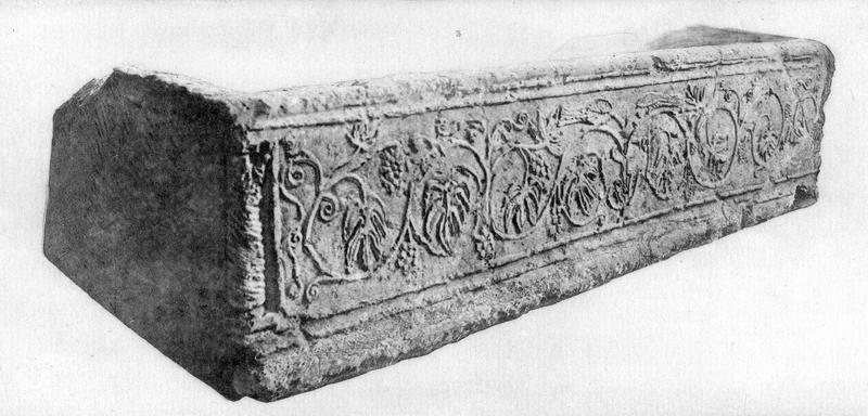 sarcophage (cuve), vue générale