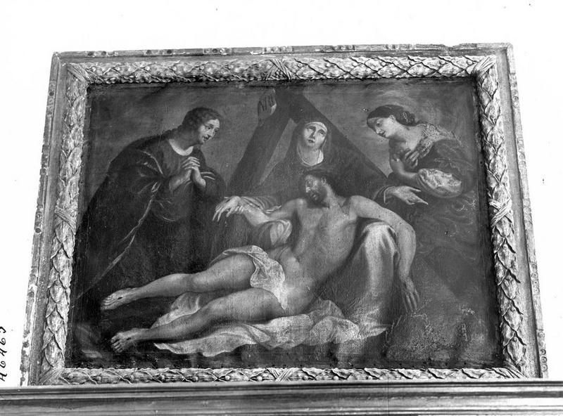 tableau : le Christ mort, vue générale