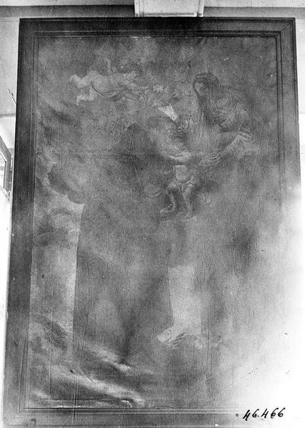tableau : la Vierge et saint Antoine de Padoue, vue générale