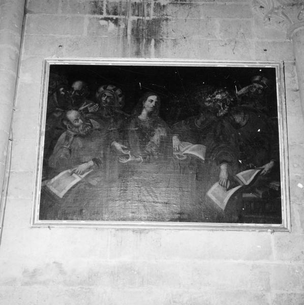 tableau : le Christ au milieu des docteurs