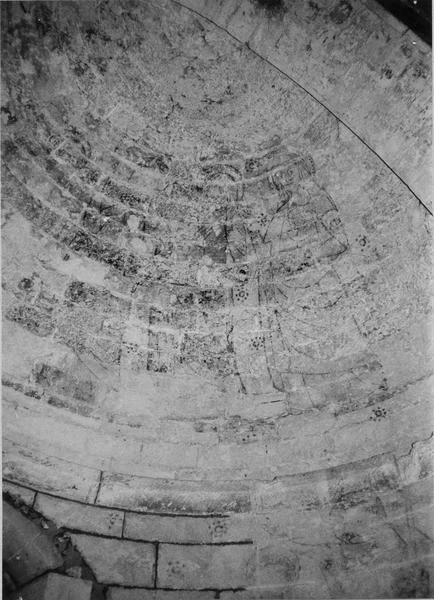 peinture murale : Visitation (supposé), Baptême du Christ