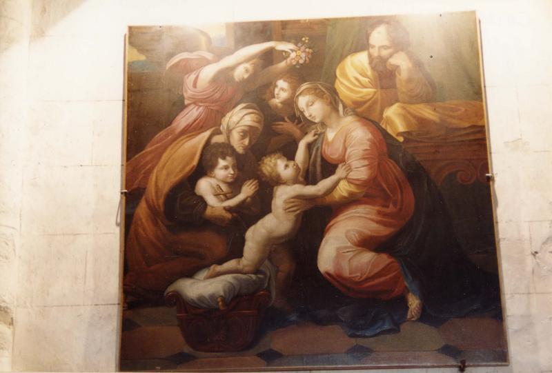 tableau : La Sainte Famille, dite La Grande Sainte Famille de François Ier