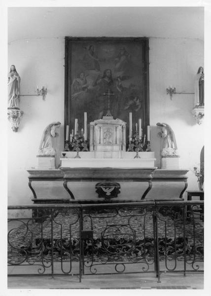 clôture liturgique (table de communion)