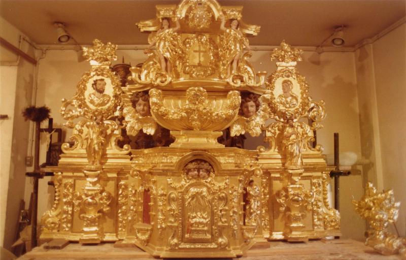 Détail du tabernacle