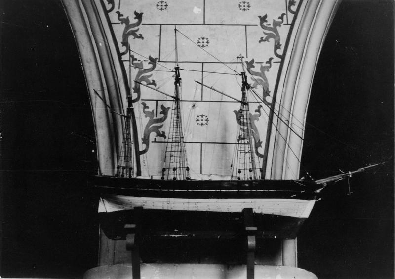 ex-voto, maquette (navire), dit la Jeanne d'Arc