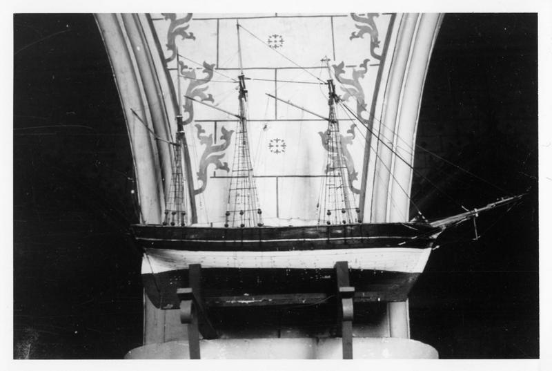ex-voto, maquette : navire, dit le saint Pierre