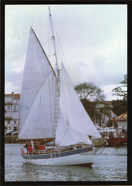 bateau pilote, bateau de plaisance (dundee), dit Espoir
