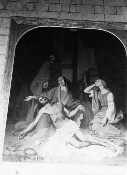 tableau : Déploration du Christ