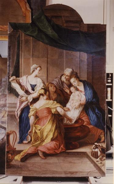 Tableau : Nativité de la Vierge