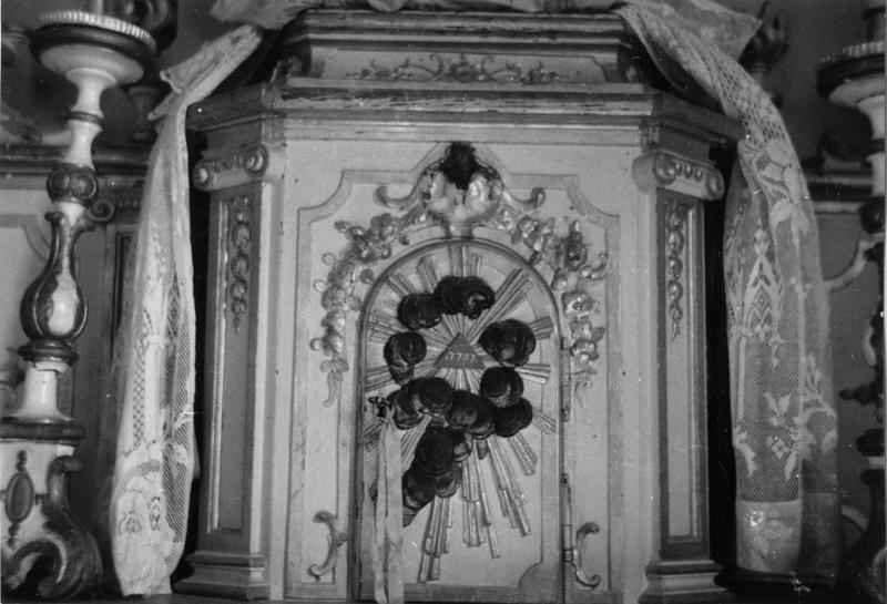 Tabernacle, détail de la porte